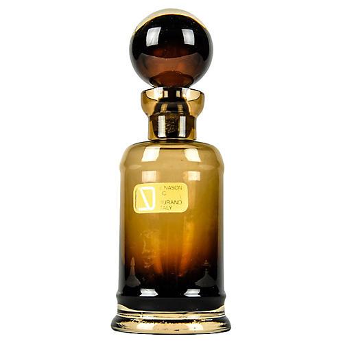 Murano Glass Ombré Bottle w/ Stopper