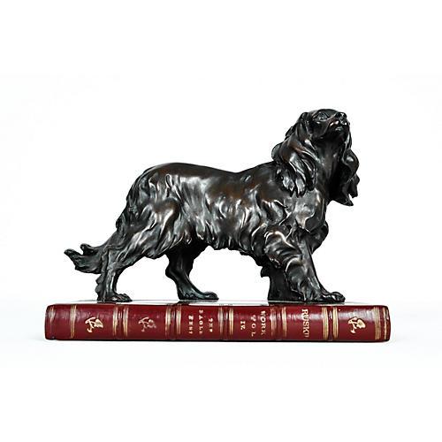 Bronze Dog Figurine