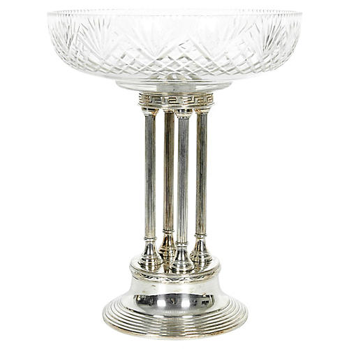 Antique Silver-Plate Centerpiece