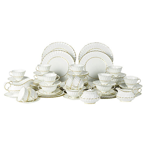 English Royal Doulton Set, Svc. for 12
