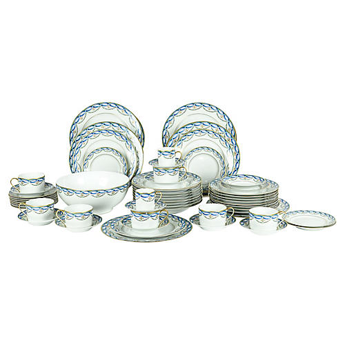 Limoges Tiffany & Co. Dinner Set, Svc 8
