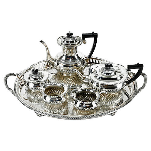Sheffield Tea and Coffee Set, 6 Pcs