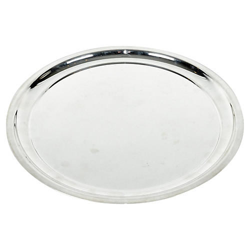 Round Barware Tray