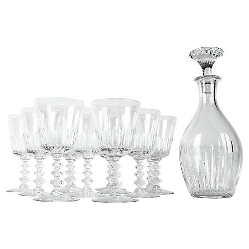 Baccarat Decanter Set, 13 Pcs