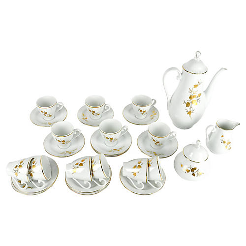 Bavarian Expresso Set, Svc for 12