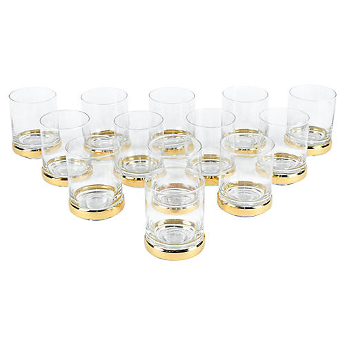 Whiskey/Scotch Glasses, S/12