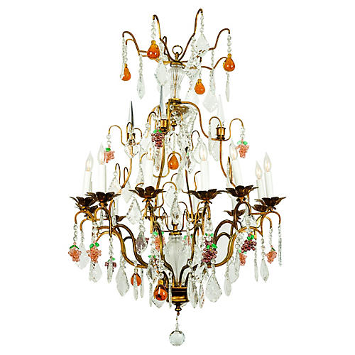 Murano Crystal Chandelier