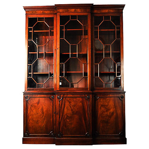 Antique American China Cabinet