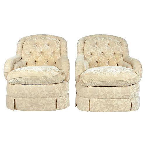 Baker Side Chairs, S/2