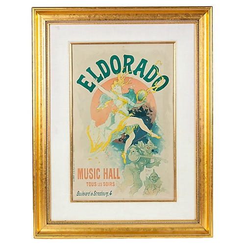 Framed Eldorado Poster