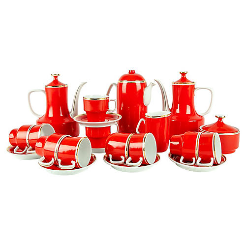 Porcelain Expresso Service Set