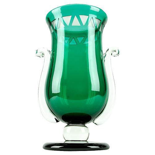 Vintage Art Glass Decorative Piece/Vase.