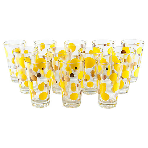 Barware Highball Glasses, S/12