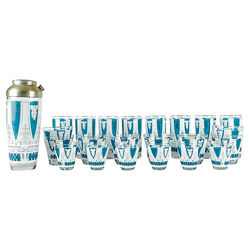 Martini Glassware Set