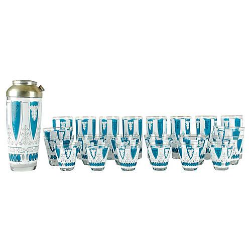 Martini Glassware Set