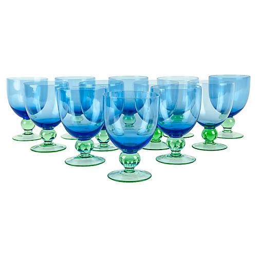 Crystal Glasses, S/12