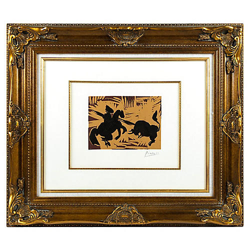 Bullfight by Pablo Picasso