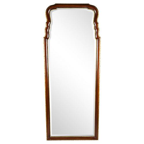 French-Style Mahogany Mirror