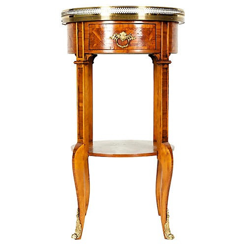 Early-19th-Century Mahogany Side Table