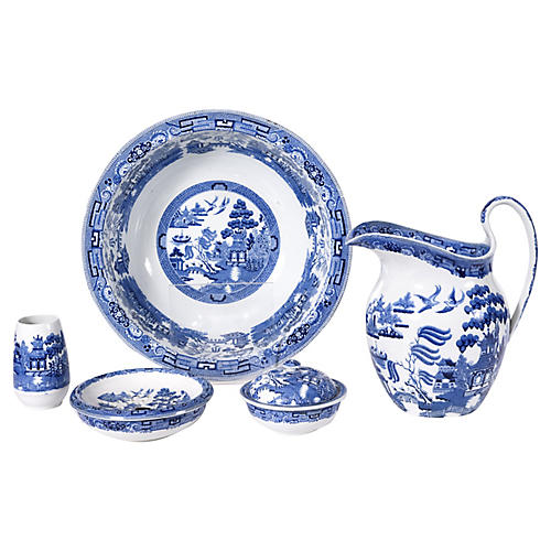 Wedgwood England Porcelain Five Pcs Set.