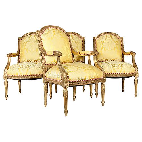 19th Century Louis XVI Chairs