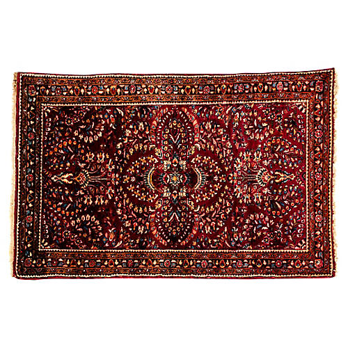 Pure Wool Persian Hand Knotted Area Rug