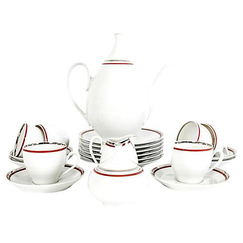 Art Deco German Porcelain Luncheon Set