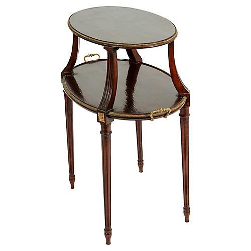 Antique Louis XVI Style Dessert Table