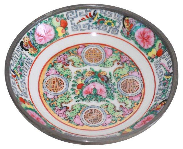 Rose Medallion Dish