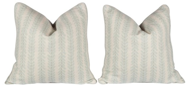 Schumacher Woodperry Pillows, Pr