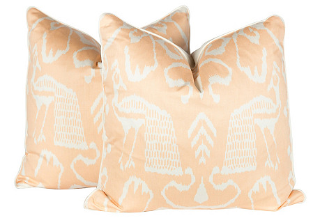 China Seas Bali Isle Pillows, Pair
