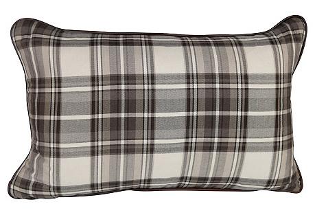 Plaid Harlan Lumbar Pillow