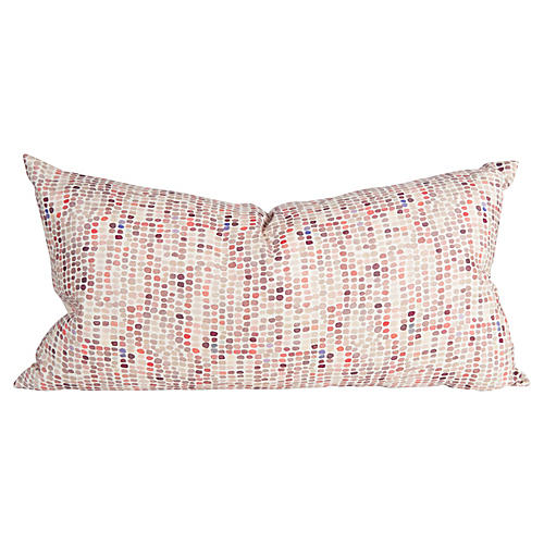 Speckled Multicolor Body Pillow