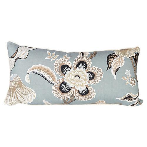 Schumacher Hothouse Lumbar Pillow