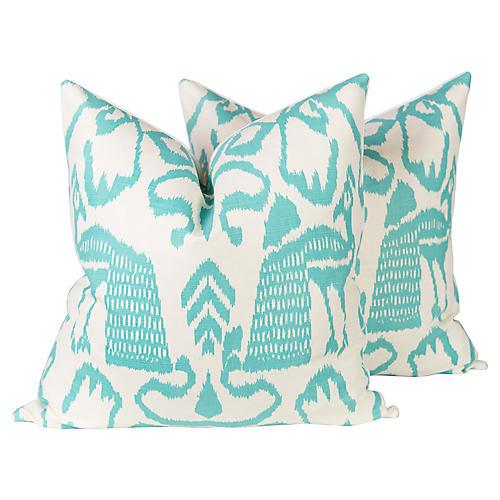 China Seas Teal Bali Isle Pillows, Pr