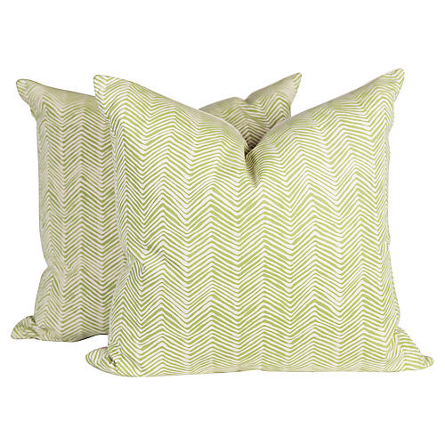 Alan Campbell Pillows, Pair