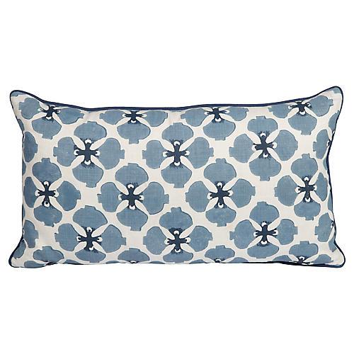 Sakura Linen Lumbar Pillow