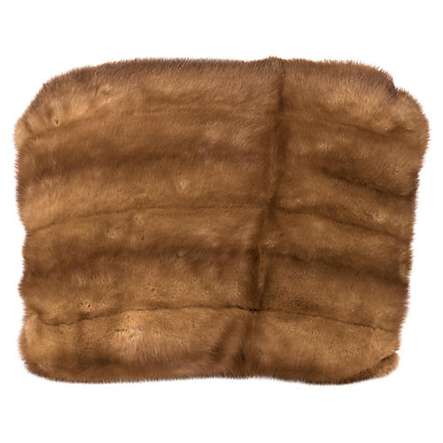 Caramel Mink Accent Pillow