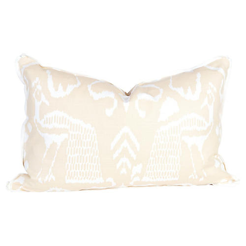 Linen Bali Isla Lumbar Pillow