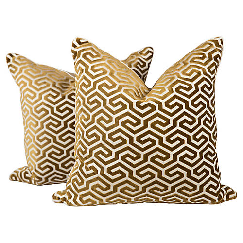 Geometric Pillows, Pair