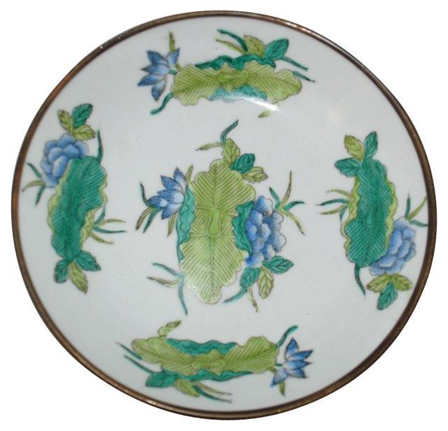 Brass & Porcelain Bowl