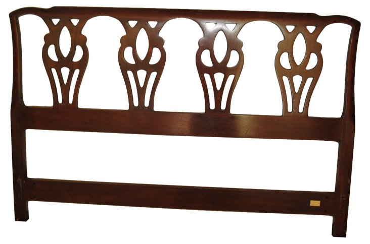 Chippendale-Style Headboard, Queen-Size