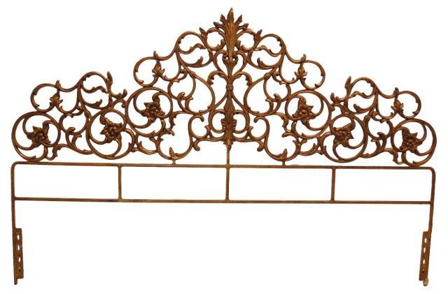 Baroque Gilt Headboard, King