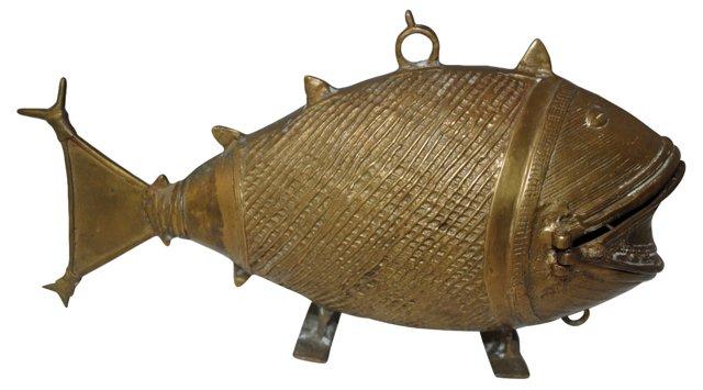 Chinese Bronze Fish
