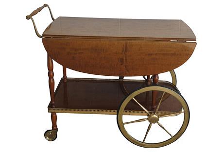 Italian Bar Cart by de Baggis