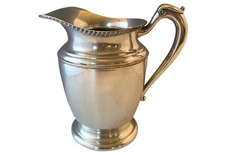 Silver-Plate Pitcher
