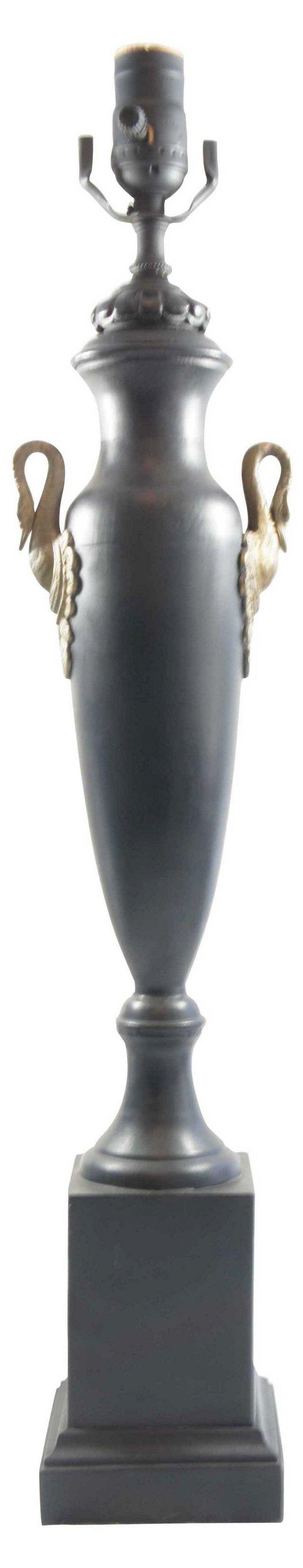 Goose-Handled Lamp