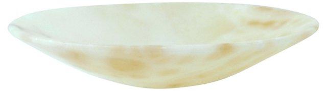 Italian Alabaster Bowl
