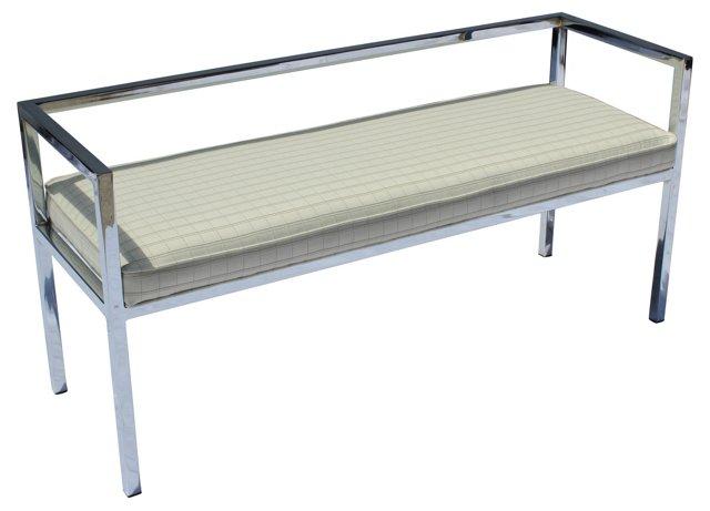 Chromed Bench by Swaim Designs