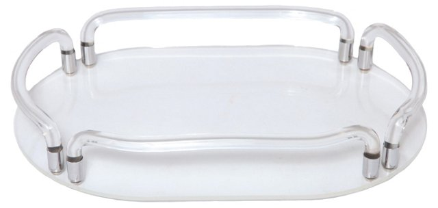 Dorothy Thorpe Lucite Tray